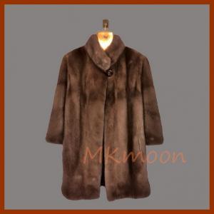 mink fur coat 257#