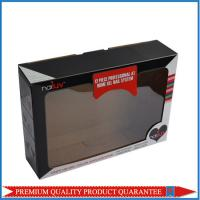 Clear PVC Window Folding Corrugated Paper Box with Custom Color Artwork Print