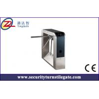 Cheap 304 Stainless Steel Fingerprint Entrance tripod turnstile for access control system for sale