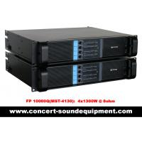 Best 4 Channel Switch Mode Amplifier 4 x 1300W FP 10000Q For Line Array Speakers In Concert wholesale