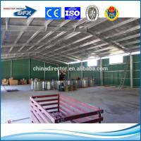 low cost and high quality prefabricated H section steel structure industrial building shed warehouse