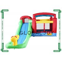Quality Colorful Inflatable Bouncer , Inflatable Bouncy Castle With Water Slide wholesale