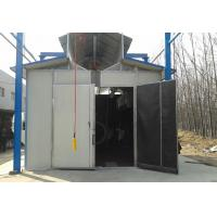 Quality Environmental Protection Shot Blasting Booth With Dust Removal System / Lighting Device wholesale
