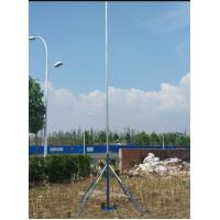 wireless control two axial movement pan-head 6 m ground based telescopic mast photography sport video mast