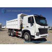 Buy cheap 247kw / 336hp Heavy Duty Dump Truck Sinotruk Engine HOWO A7 6x4 30T from wholesalers