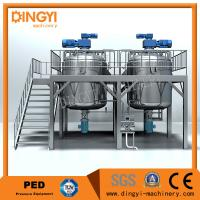Quality 1000L Shampoo Shampoo Production Line Semi Solid Equipment  Electrical / Steam Heating wholesale