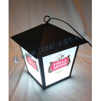 Quality Outdoor  /  Indoor LED Sign , Stella Artois Street Lamp Style For Bar Promotion wholesale