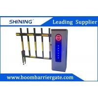 2.0 mm Cold Steel Driveway car Parking Barrier Gate With Led Light