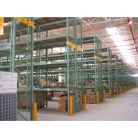 Buy cheap Green Heavy Duty Pallet Racking System , Industrial Steel Storage Racks from wholesalers