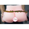 Quality Silicone Young Girl's Vagina  Ass  Male Masturbation Toys Sex Toy Male masturbator wholesale