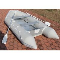 Best Professional Grey Portable Inflatable Boat Inflatable Sailing Dinghy wholesale