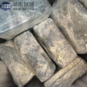 Magnesium Silicon MgSi10/20/50 master alloy ingot for improving magnesium alloy performance