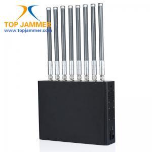 New 8 Bands 40w High Power RF Signal Jammer Blocker GSM 3G 4G LTE Wifi GPS Lojack UHF VHF