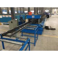 Best Steel Channel Ladder Cable Tray Making Cold Roll Forming Machine 10 - 12 m / min wholesale