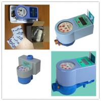 Quality Contactless Intelligent Water Meter With IC Card Prepaid For Measuring Meter Volume wholesale