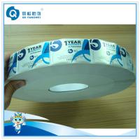 Quality Blue Tamper Proof Labels For Car / Auto , Thermal Transfer Warning Labels wholesale