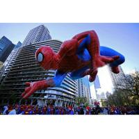 Best Spiderman Flying Giant Advertising Balloons , Event Giant Advertising Inflatables wholesale