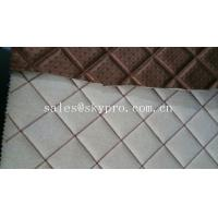 Quality Commercial upholstery rubber fabric laminated car mat flooring 3mm thick wholesale