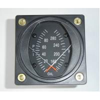 """Quality 2 1/4"""" Combination Oil Dual Aircraft Pressure Gauge and Temp Guages PT2-10P30F wholesale"""
