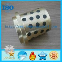 Self lubricating brass graphite bushes,Brass graphite bushings, Self-lubricating brass/bronze bush with graphite,Bushes