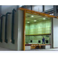 Quality CE Approved Indoor Air Sand Blasting Room With Abrasive Storage Hopper wholesale