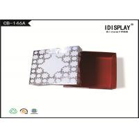 Best White Cardboard Jewelry Boxes / Decorative Christmas Gift Boxes SGS Approved wholesale