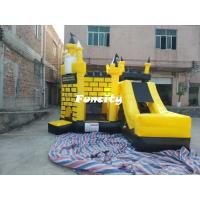 Best 5 * 5 * 4.5 m Colorful Inflatable Jumping Castle Combo With En 14960 For Kids wholesale