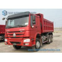 Buy cheap 336hp Sinotruk engine HOWO Dump Truck 6x4 Load capacity 30 T  15 cubic cargo from wholesalers