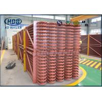 Quality Exhaust Heat Recovery System Low Temperature Boiler Economizer For CFB / HRSG Boiler wholesale
