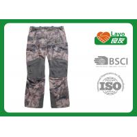 Buy cheap Winter Waterproof Hunting Camo Pants , Mossy Oak Camo Pants Anti Static from wholesalers