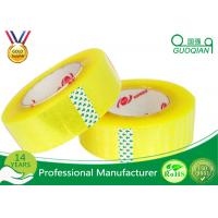 Best Flexibility BOPP Packing Tape Strong Grip For Snap Curve Shape / Bundling wholesale