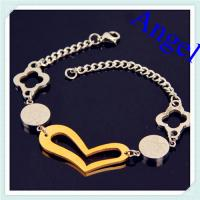 Quality fashion high quality womens bracelet,fashion 316l stainless steel jewelry wholesale