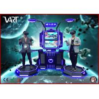 Quality Double players VR interactive simulator with HTC VIVE high immersive games suitable for adults / kids wholesale