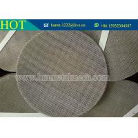 5/10/20/25 Micron Plastic Extruder screens,Stainless Steel Dutch Woven Wire Filter Mesh