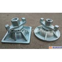 Cast Iron Wing Nut Tie Rod Casted Slope Super Plate For Inclined Formwork System