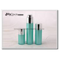 Quality Green Rotatable Airless Bottle Cosmetic Bottle Acrylic Cream Bottle 15ml wholesale