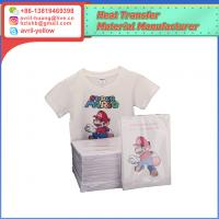 A4 light color inkjet heat transfer paper for cotton fabric