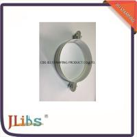 Best White Galvanised Steel M7 Cast Iron Pipe Clamps With Riveted Nuts wholesale