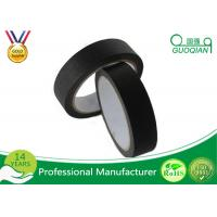 """Best 3/4"""", 1"""", 1.5"""", And 2"""" Widths Black Crepe Masking Tape For Automotive / Window wholesale"""