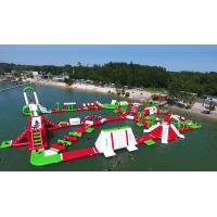 Best Outdoor Floating Airtight Inflatable Water Park Games For Adults EN15649 wholesale