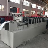 Best C Channel Cable Tray Roll Forming Machine , Cable Trunking Cover Metal Roll Forming Machines wholesale