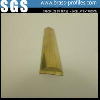 Quality Radial Extruded Brass Bar / Arc Extruding Sheet / Curved Copper Rod Manufacturer wholesale