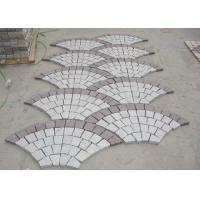 Red Porphyry G603 Decorative Landscaping Stone Driveway Paving Stones Fan Shape