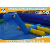 Outdoor Inflatable Water Park Games Inflatable Water Toys Float Horse Water Fountain For Pool