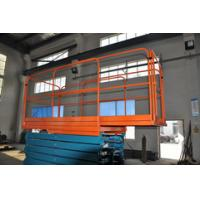 7.5 Meters Hydraulic Mobile Manlift with  Extension Length 1000mm ,300Kg Loading Capacity