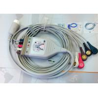 Quality Medical Compatible ECG Patient Cable 12 Pin One Piece Ecg Cables And Leadwires wholesale