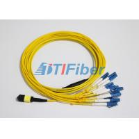 Best LC SM MTP / MPO Fiber Patch Leads With UPC Optical Fiber Connector wholesale