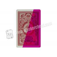 Quality Magic Props Arrow Kem Plastic Invisible Playing Cards For UV Contact Lenses Gambling Cheat wholesale