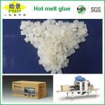 Best Folding Carton Box Hot Melt Edge Banding / Packaging White Granule First Grade wholesale