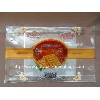 Quality Customized Food Packaging ClearPlastic Ziplock Bags for Cookies / Dry Fish wholesale